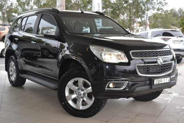 Used Holden Colorado 7 RG MY16 LTZ, 2015 Holden Colorado 7 RG MY16 LTZ Black 6 Speed Sports Automatic Wagon