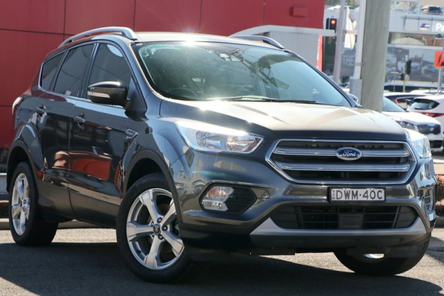 Used Ford Escape ZG Trend 2WD, 2017 Ford Escape ZG Trend 2WD Grey 6 Speed Sports Automatic Wagon
