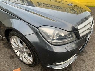 2013 Mercedes-Benz C-Class W204 MY13 C250 CDI 7G-Tronic + Avantgarde Dark Grey 7 Speed