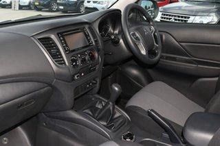 2018 Mitsubishi Triton MR MY19 GLX Double Cab ADAS White 6 Speed Sports Automatic Utility