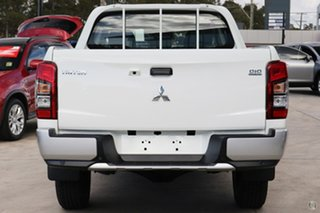 2019 Mitsubishi Triton MR MY19 GLX Double Cab ADAS White 6 Speed Manual Utility.