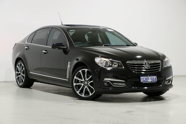 Demo Holden Calais VF II V, 2016 Holden Calais VF II V Black 6 Speed Automatic Sedan