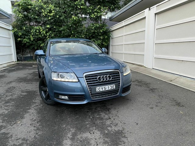 Used Audi A6 4F MY09 Multitronic, 2009 Audi A6 4F MY09 Multitronic Blue 1 Speed Constant Variable Sedan