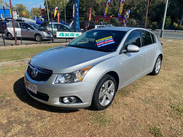 Used Holden Cruze JH Series II MY14 Equipe, 2014 Holden Cruze JH Series II MY14 Equipe Silver 6 Speed Sports Automatic Hatchback
