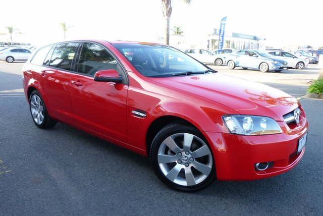 Used Holden Commodore VE MY10 International Sportwagon, 2009 Holden Commodore VE MY10 International Sportwagon Red 6 Speed Sports Automatic Wagon