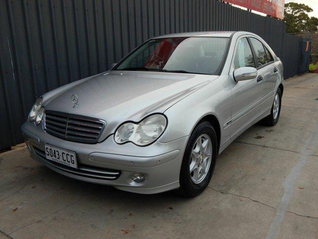 Used Mercedes-Benz C-Class W203 MY2005 C180 Kompressor Classic, 2005 Mercedes-Benz C-Class W203 MY2005 C180 Kompressor Classic Silver 5 Speed Automatic Sedan