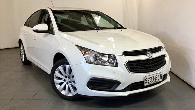 Used Holden Cruze JH Series II MY16 Equipe, 2016 Holden Cruze JH Series II MY16 Equipe White 6 Speed Sports Automatic Sedan
