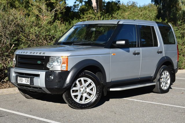 Used Land Rover Discovery 3  SE, 2007 Land Rover Discovery 3 SE Silver 6 Speed Sports Automatic Wagon