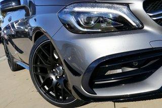 2017 Mercedes-AMG A 45 176 MY17 AMG Grey 7 Speed Auto Dual Clutch Hatchback.