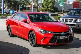 2015 Toyota Camry ASV50R Atara SX Red 6 Speed Sports Automatic Sedan.