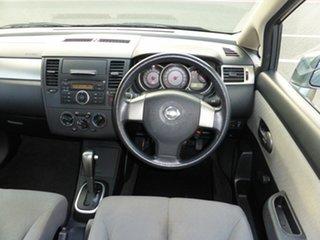2007 Nissan Tiida C11 MY07 ST Grey 4 Speed Automatic Sedan