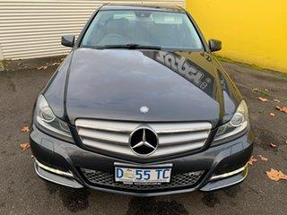 2013 Mercedes-Benz C-Class W204 MY13 C250 CDI 7G-Tronic + Avantgarde Dark Grey 7 Speed.