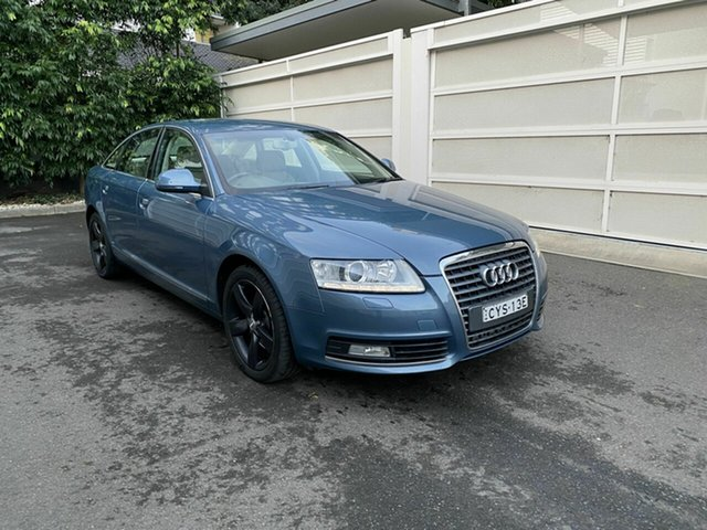 Used Audi A6 4F MY09 Multitronic Zetland, 2009 Audi A6 4F MY09 Multitronic Blue 1 Speed Constant Variable Sedan