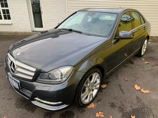 2013 Mercedes-Benz C-Class W204 MY13 C250 CDI 7G-Tronic + Avantgarde Dark Grey 7 Speed.