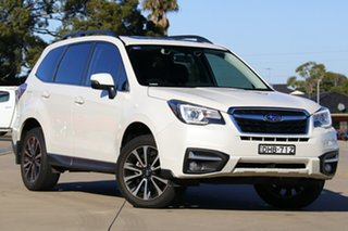 2016 Subaru Forester MY16 2.5I-S White Continuous Variable Wagon.