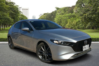 2019 Mazda 3 BP2H7A G20 SKYACTIV-Drive Evolve Sonic Silver 6 Speed Sports Automatic Hatchback.