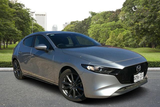 Demo Mazda 3 BP2H7A G20 SKYACTIV-Drive Evolve, 2019 Mazda 3 BP2H7A G20 SKYACTIV-Drive Evolve Sonic Silver 6 Speed Sports Automatic Hatchback