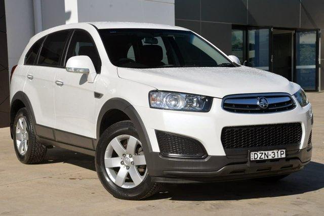 Used Holden Captiva CG MY15 7 LS, 2015 Holden Captiva CG MY15 7 LS White 6 Speed Sports Automatic Wagon