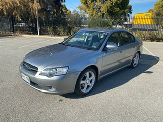 2005 Subaru Liberty B4 MY06 AWD Silver 4 Speed Sports Automatic Sedan.