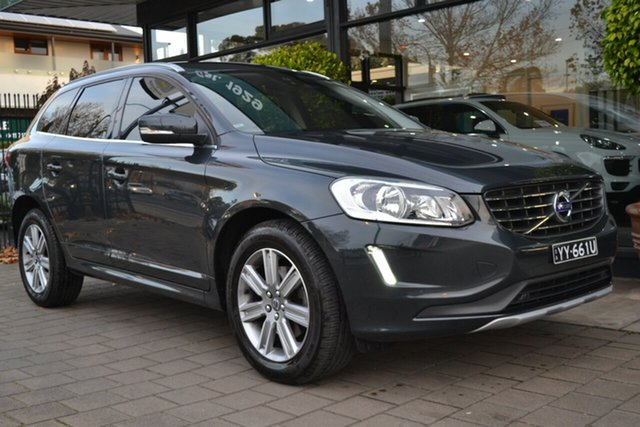 Used Volvo XC60 DZ MY16 D4 Geartronic AWD Kinetic, 2016 Volvo XC60 DZ MY16 D4 Geartronic AWD Kinetic Grey Metallic 6 Speed Sports Automatic Wagon