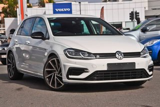 2017 Volkswagen Golf 7.5 MY18 R DSG 4MOTION Grid Edition White 7 Speed Sports Automatic Dual Clutch.