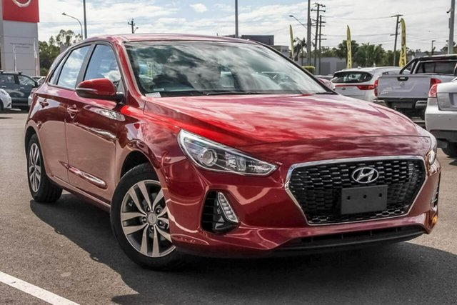 Used Hyundai i30 PD2 MY19 Active, 2019 Hyundai i30 PD2 MY19 Active Red 6 Speed Sports Automatic Hatchback