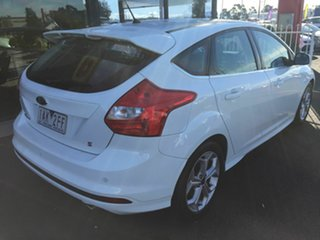 2013 Ford Focus LW MK2 Sport White 6 Speed Automatic Hatchback