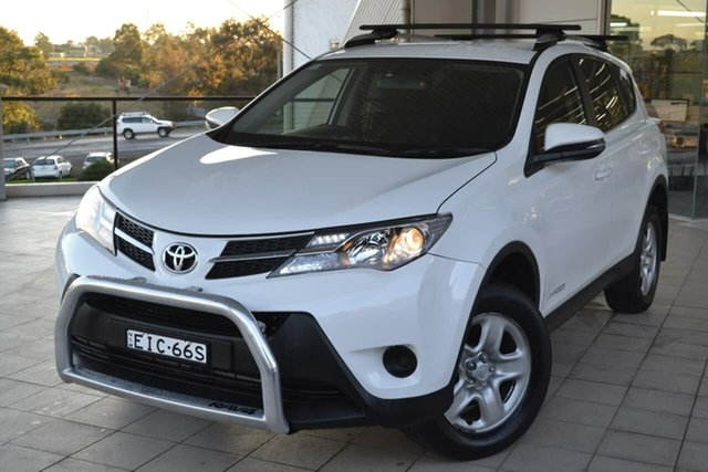 Used Toyota RAV4 ALA49R GX AWD, 2015 Toyota RAV4 ALA49R GX AWD White 6 Speed Sports Automatic Wagon