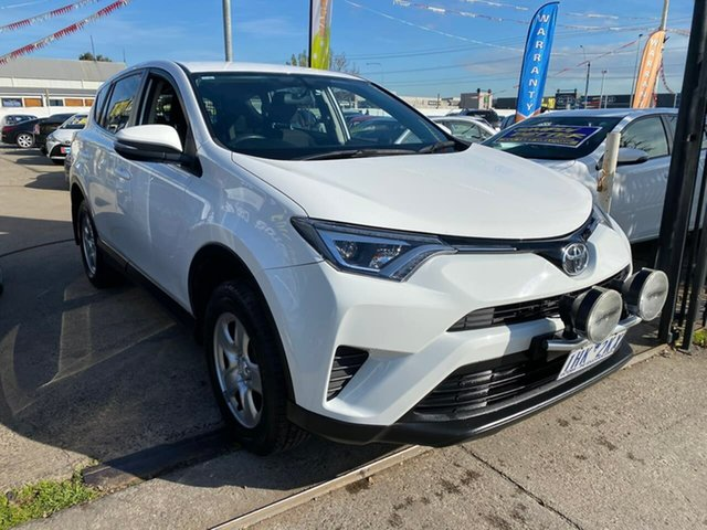 Used Toyota RAV4 ZSA42R GX 2WD, 2016 Toyota RAV4 ZSA42R GX 2WD White 7 Speed Constant Variable Wagon
