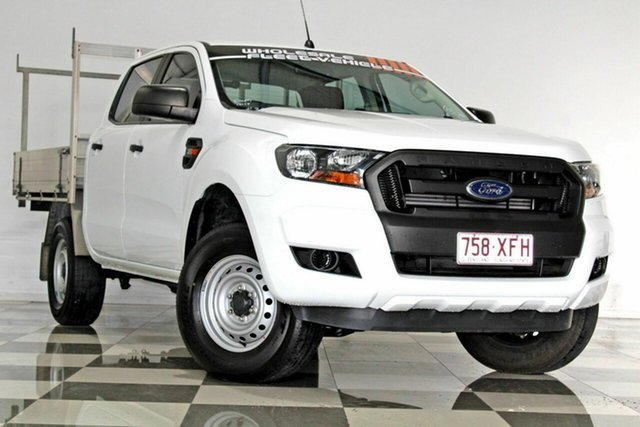 Used Ford Ranger PX MkII MY17 Update XL 3.2 (4x4), 2017 Ford Ranger PX MkII MY17 Update XL 3.2 (4x4) White 6 Speed Automatic Crew Cab Utility
