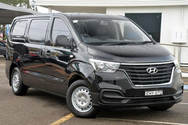 Used Hyundai iLOAD TQ4 MY19 , 2018 Hyundai iLOAD TQ4 MY19 Black 5 Speed Automatic Van