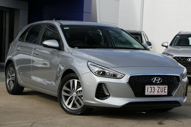 Demo Hyundai i30 PD2 MY20 Active, 2019 Hyundai i30 PD2 MY20 Active Typhoon Silver 6 Speed Sports Automatic Hatchback