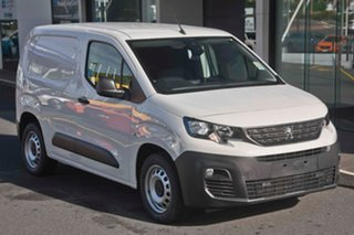 2019 Peugeot Partner K9 MY19 110 Low Roof MWB THP Bianca White 6 Speed Manual Van