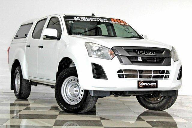 Used Isuzu D-MAX TF MY17 SX HI-Ride (4x2), 2017 Isuzu D-MAX TF MY17 SX HI-Ride (4x2) White 6 Speed Automatic Crew Cab Utility
