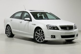 2016 Holden Caprice WN MY16 V Heron White 6 Speed Auto Active Sequential Sedan.