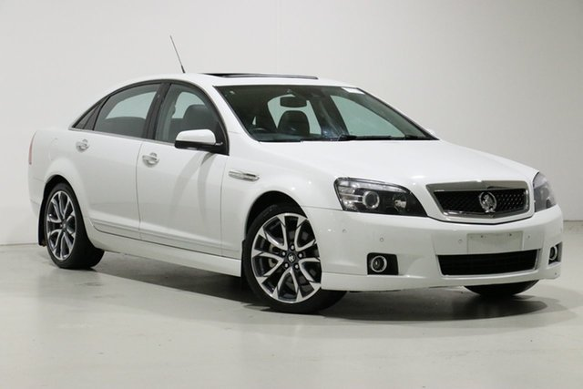 Used Holden Caprice WN MY16 V, 2016 Holden Caprice WN MY16 V Heron White 6 Speed Auto Active Sequential Sedan