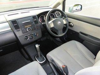 2007 Nissan Tiida C11 MY07 ST Grey 4 Speed Automatic Sedan.
