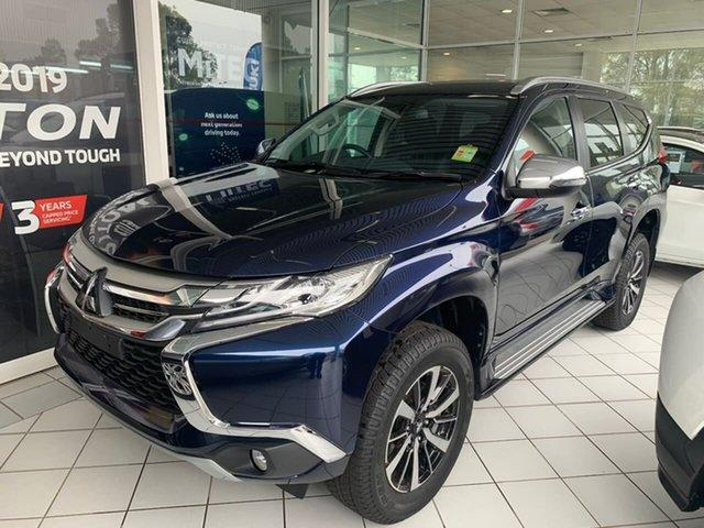 Demo Mitsubishi Pajero Sport QE MY19 GLS, 2019 Mitsubishi Pajero Sport QE MY19 GLS Blue 8 Speed Sports Automatic Wagon