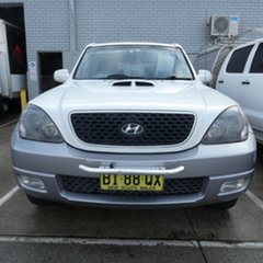 2006 Hyundai Terracan HP MY06 White 4 Speed Automatic Wagon.