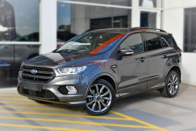 Used Ford Escape ZG 2019.25MY ST-Line AWD, 2019 Ford Escape ZG 2019.25MY ST-Line AWD Grey 6 Speed Sports Automatic Wagon