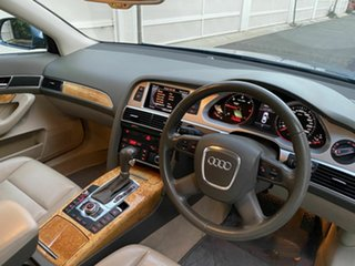 2009 Audi A6 4F MY09 Multitronic Blue 1 Speed Constant Variable Sedan