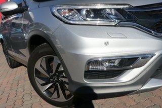 2015 Honda CR-V RM Series II MY16 VTi-L 4WD Silver 5 Speed Sports Automatic Wagon.