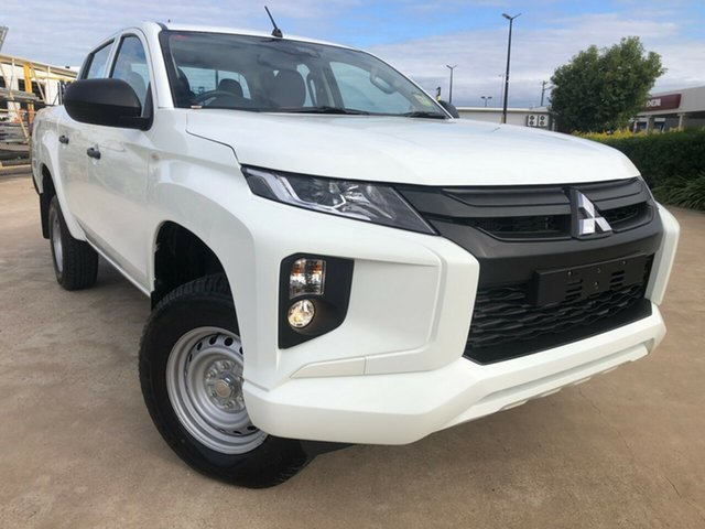 Used Mitsubishi Triton MR MY19 GLX Double Cab ADAS, 2018 Mitsubishi Triton MR MY19 GLX Double Cab ADAS White 6 Speed Sports Automatic Utility