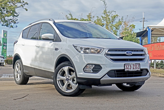 Used Ford Escape ZG 2019.75MY Trend 2WD, 2019 Ford Escape ZG 2019.75MY Trend 2WD Frozen White 6 Speed Sports Automatic Wagon
