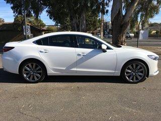 2019 Mazda 6 GL1033 GT SKYACTIV-Drive White 6 Speed Sports Automatic Sedan.