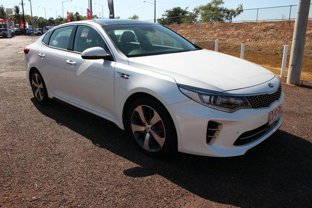 Used Kia Optima JF MY16 GT, 2016 Kia Optima JF MY16 GT White 6 Speed Automatic Sedan