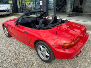 1998 BMW Z3 Red 4 Speed Automatic Roadster