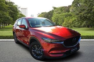 2019 Mazda CX-5 KF4WLA Maxx SKYACTIV-Drive i-ACTIV AWD Sport Soul Red 6 Speed Sports Automatic Wagon.