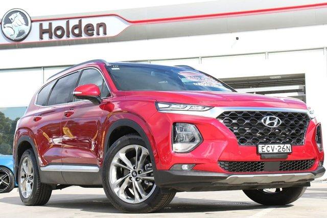 Used Hyundai Santa Fe TM MY19 Highlander, 2019 Hyundai Santa Fe TM MY19 Highlander Horizon Red 8 Speed Sports Automatic Wagon