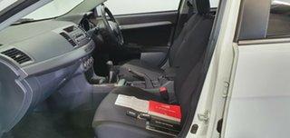 2011 Mitsubishi Lancer CJ MY12 VR White 5 Speed Manual Sedan